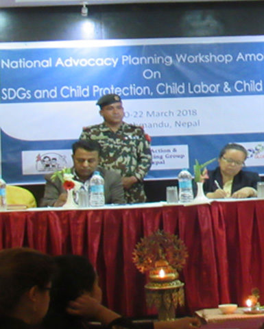 National Campaign on SDGs on Child Labor and Child Protection, Nepal