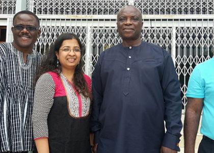 Field Visit to Ghana