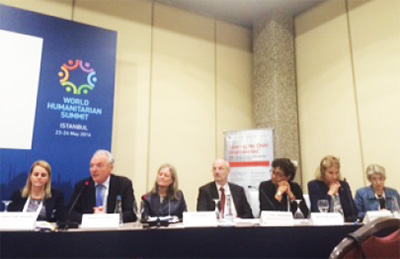 Global March organises a Side Event at World Humanitarian Summit in Turkey