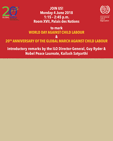 Join us for ILO-Global March Joint Event in Geneva, 4 June 2018