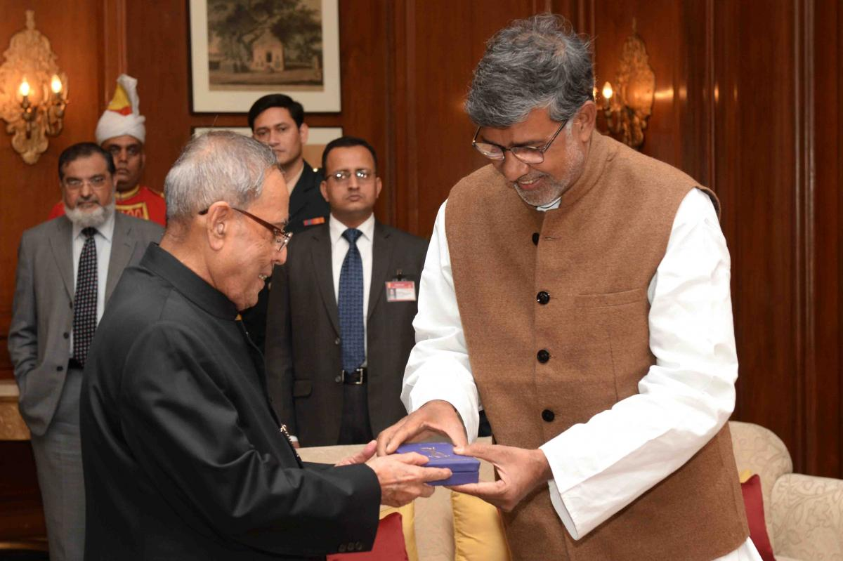 Nobel Peace Laureate Dedicates The Medal To His Nation And Countrymen 2015-01-07