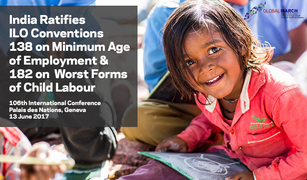 India Ratifies 2 Fundamental ILO Conventions on Child Labour in the Significant Month of June