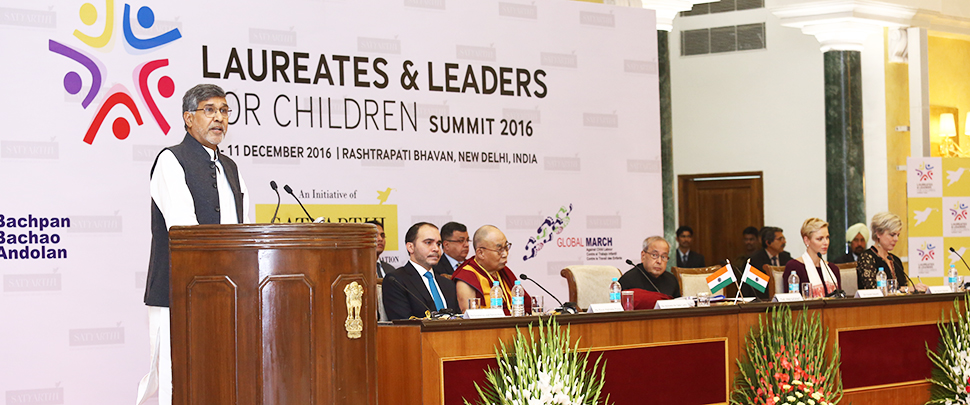 Global March at the Laureates & Leaders for Children Summit, New Delhi