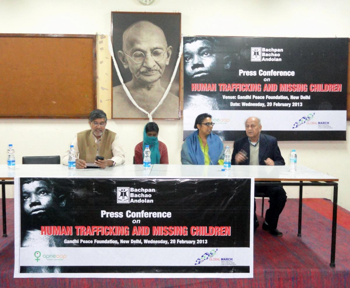 """""""Indian child rights organizations demand statutory definition of trafficking, slavery, forced labour and other forms of sexual exploitation"""""""
