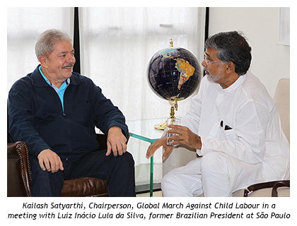 Child Labourers cannot wait anymore… Global March in follow-up of Brasilia Declaration