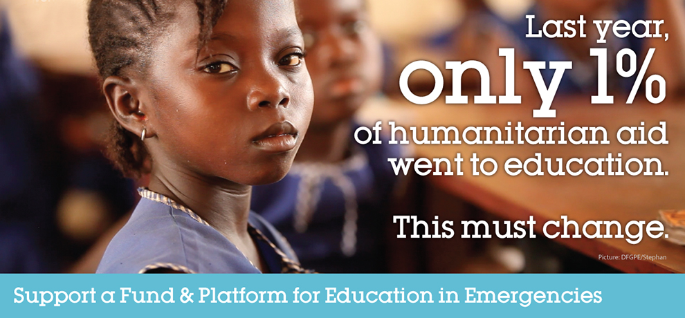 Need For Education In Emergencies