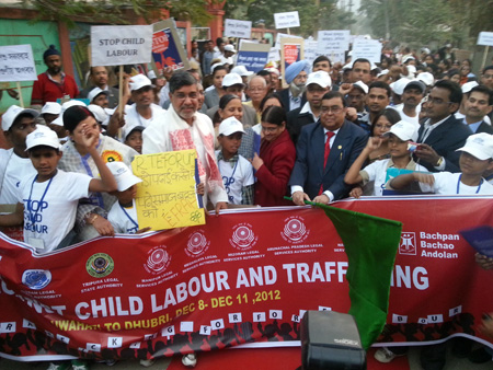 Make your voice count against child labour, child trafficking and slavery this Human Rights Day