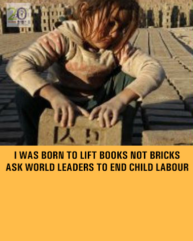 Sign the Petition to End Child Labour