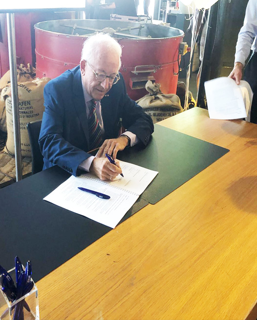 Global March Signs the International Responsible Business Conduct (IRBC) Agreement for the Food Products Sector in The Netherlands