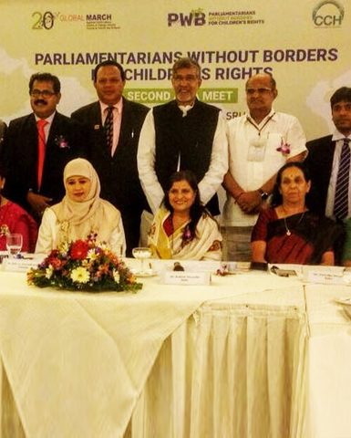 2nd Asia Meet of Parliamentarians Without Borders for Children's Rights held in Sri Lanka