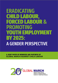Eradicating Child Labour, Forced Labour & Promoting Youth Employment by 2025: A Gender Perspective