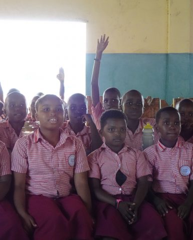 Child Rights Club Members Stand for Child Rights in Tanzania