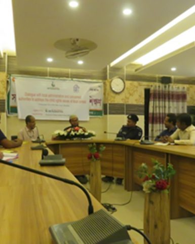 Bangladeshi CSOs call upon local administration to stop violence against children