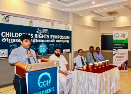 Multi-Stakeholders Join Hands to Promote Child Rights in Sri Lanka